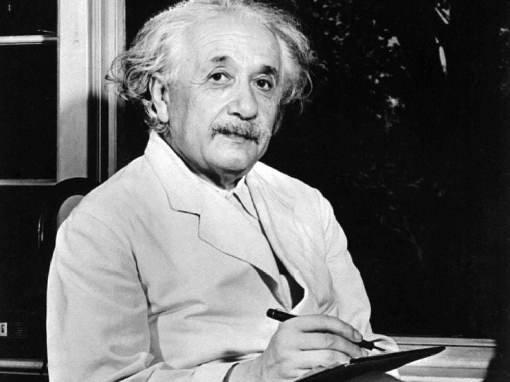 Albert Einstein tout le monde est un génie